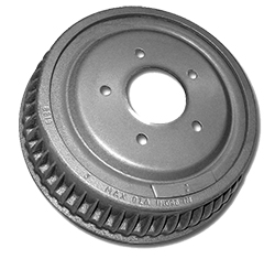 Brake Drum, Front, 1964-74 Chevy Nova, 66-72 Chevelle and 67-72 Camaro
