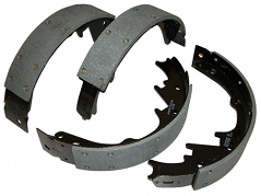 Brake Shoes, Front, 1967-73 Ford Mustang