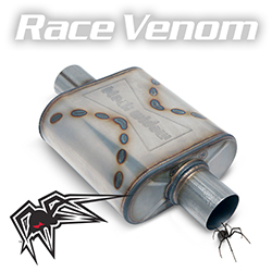 Black Widow Race Venom Exhaust Muffler