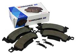 GM Disc Brake Pads, Performance Ceramic Type, D154