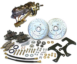 "1957-64 Ford F-100 Truck Power Disc Brake Conversion Kit, 5 x 5.5"" Bolt Pattern"