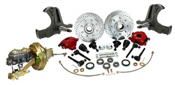 1963-66 Chevy, GMC C20 Truck Power Disc Brake Conversion Kit, 8-Lug