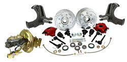 1967-70 Chevy, GMC C20 Truck Power Disc Brake Conversion Kit, 8-Lug