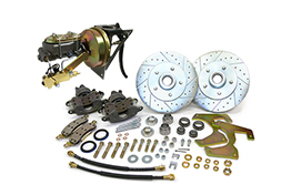 "1948-52 Ford F-1 Truck Power Disc Brake Conversion Kit, Firewall Mount Booster, 5.5"" Bolt Pattern"