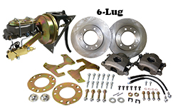 "1954-55 Chevy, GMC Truck Power Disc Brake Conversion Kit, 6 x 5.5"" Bolt Pattern"