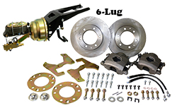 "1947-53 Chevy, GMC Truck Power Disc Brake Conversion Kit, 6 x 5.5"" Bolt Pattern"