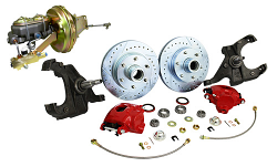 Power Disc Brake Conversion, 1963-66 Chevy, GMC C10 Truck 5 or 6 Lug