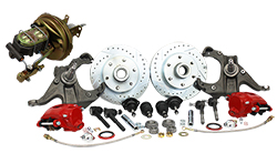 Power Disc Brake Conversion, 1963-66 Chevy, GMC C10 Truck, 5 or 6 Lug Deluxe