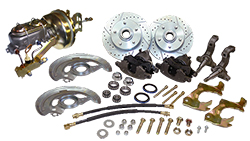 1964-66 Pontiac GTO Power Disc Brake Conversion, OEM Spindles