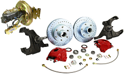 Power Disc Brake Conversion, 1967-70 Chevy, GMC C10 Truck 5 or 6 Lug
