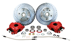 1960-72 Chevy C10, GMC C15 Truck Disc Brake Wheel Component Kit, 5-Lug