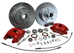 1973-87 Chevy C10, GMC C15 Truck Deluxe Wilwood Disc Brake Wheel Component Kit