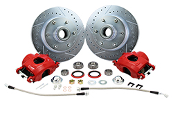 1960-70 Chevy C10, GMC C15 Truck Disc Brake Wheel Component Kit, 6 Lug
