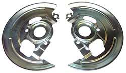 62-74 Chevy 2-Nova, 64-72 GM A Body, 67-69 Chevy Camaro-Pontiac Firebird, Disc Brakes Dust Shields, Set