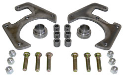 1937-48 FORD CAR, DISC BRAKE CONVERSION BRACKET KIT, 5-LUG (DBK53748) 19727