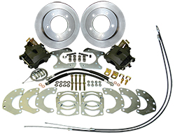 "Ford Truck 9"" Rear End Disc Brake Conversion Kit, 11.5"" Rotors, 5 x 5.5"" Bolt Pattern"