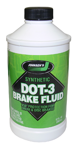 Johnsen's Synthetic DOT 3 Brake Fluid