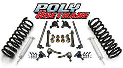 1958-64 Chevy Impala Front Suspension Rebuild Kit, Super Deluxe with PolyUrethane Bushings