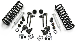 1965-70 Chevy Impala Front Suspension Rebuild Kit, Super Deluxe with PolyUrethane Bushings