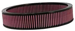"K & N Air Filter Element, 14"" Dia"