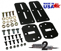 Chevy LS Engine Mount Adapter Kit, Adjustable
