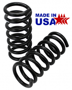 "POL - 1955-57 Chevy Belair Front Lowered Coil Springs 1.5"" Drop"
