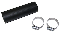 "Fuel Filler Hose, Rubber, 1.5"" Diameter, Per Foot, Includes Clamps"