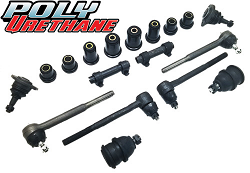 1966 Chevy Chevelle Front Suspension Rebuild Kit, Poly Urethane Bushings