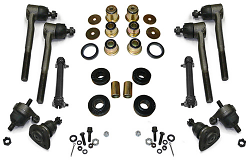 1965-70 Chevy Impala Front End Rebuild Kit, Poly Urethane Bushings