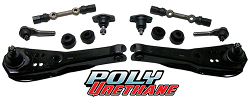 1967-69 Ford Mustang Front Suspension Rebuild Kit, Economy, Poly Urethane Bushings