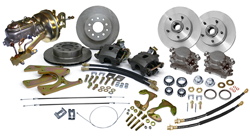 1965 Chevy Impala Front and Rear Power Disc Brake Conversion Kit