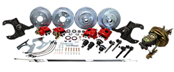 1963-66 Chevy, GMC C10 Front and Rear Power Disc Brake Conversion