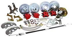 1962-67 Chevy Nova Front and Rear Power Disc Brake Conversion Kit