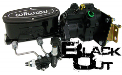 1964-72 Pontiac GTO Black Out Wilwood Hydro Boost Power Brake Conversion