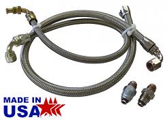Power Steering Hose kit For 600 Series Saginaw Gear Box
