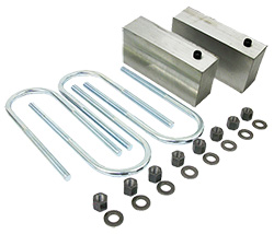 1947-55 Chevy, GMC Truck Lowering Block Kit, Aftermarket Rear end