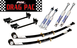 1970-76 Plymouth Duster Drag Pac Suspension Kit