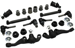 1962-69 Mopar A-Body Front Suspension Rebuild Kit, Rubber Bushings