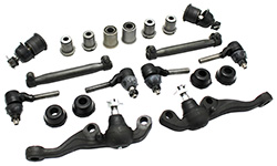 1970-72 Mopar A-Body Front Suspension Rebuild Kit, Rubber Bushings