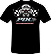Performance Online T-shirt, Black, New Design