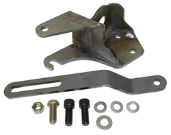 1955-57 Chevy Belair & 1955-59 Chevy, GMC Truck Power Steering Pump Bracket Kit, Front Motor Mount