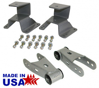 1973-87 Chevy C10, GMC C15 Truck Leaf Spring Hanger and Shackle Kit