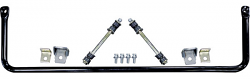 1963-72 Chevy, GMC Truck Performance Hollow Rear Sway Bar Kit, (Rear Coil Spring Suspension)