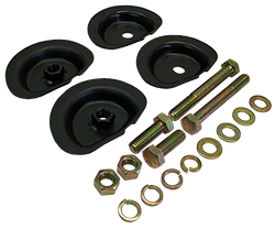 1960-72 Chevy C10, C20, GMC Truck, Coil Spring Retainer Cup Kit, Rear