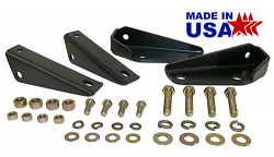 1963-72 Chevy, GMC Truck Shock Relocation kit, Coil Spring Rear