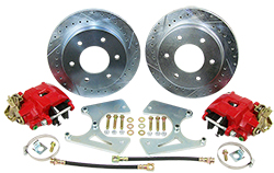 1960-62 Chevy C10, GMC C15 Truck Rear Disc Brake Conversion Kit, 6 Lug