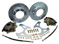POL 1963-87 Chevy C20 Disc Brake Conversion Kit, Rear 8-lug