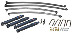 1955-59 Chevy, GMC Truck Suspension Kit, Stage 1 Mono Leaf Springs and Shocks