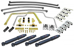 Suspension Kit, Stage 2 with Mono Leaf Springs, 1955-59 Chevy, GMC Truck 2nd Series