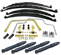 1955-59 Chevy, GMC Truck Stage 2 Multi Leaf Spring Suspension Kit, Lowered